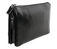 Клатч мужской кожаный Dovhani BLACK006-296 Черный, фото 1
