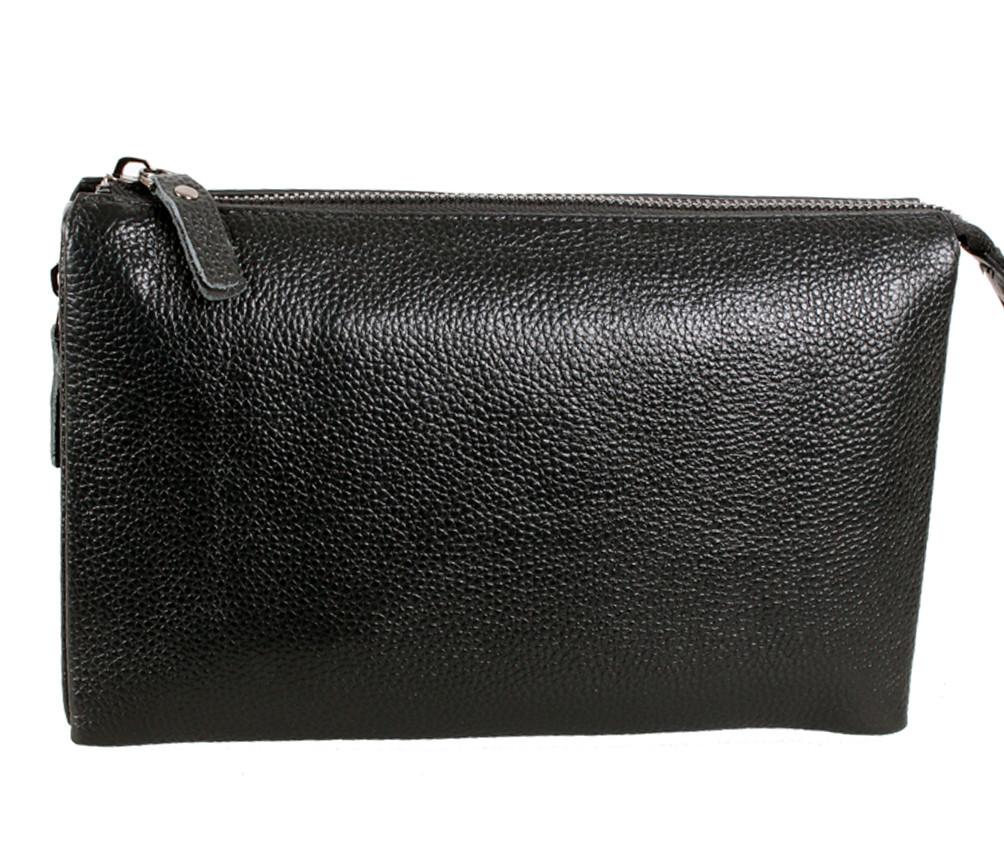 Клатч мужской кожаный Dovhani BLACK006-359 Черный