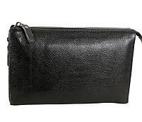 Клатч мужской кожаный Dovhani BLACK006-359 Черный, фото 1