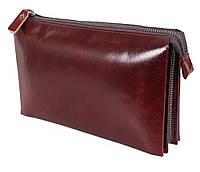 Клатч мужской кожаный Dovhani COFFEE005-433 Бордовый, фото 1