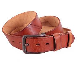 Мужской кожаный ремень Dovhani BUFF000-220 115-130 см Рыжий, фото 3