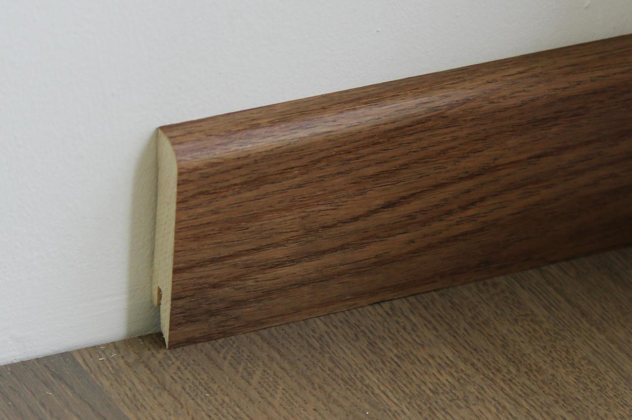 Деревянный плинтус Pedross Oak D020046 70мм