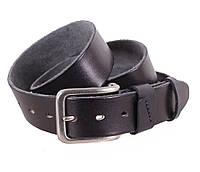Мужской кожаный ремень Dovhani BUFF000-888 115-130 см Черный, фото 1