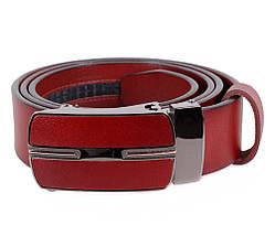 Мужской кожаный ремень Dovhani MGA101-1444 105-125 см Бордовый, фото 2