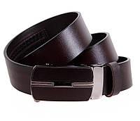 Мужской кожаный ремень Dovhani MGA101-1515 105-125 см Коричневый, фото 1