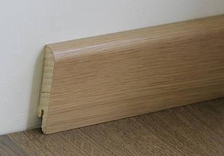 Деревянный плинтус Pedross White Oak Varnished 70мм