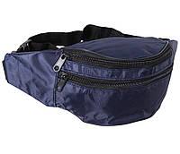 Сумка текстильная на пояс Dovhani Q00850-1DBLUE Синяя, фото 1