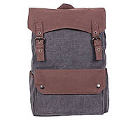 Рюкзак мужской Dovhani 6075-111BLACK Серо-Коричневый, фото 1