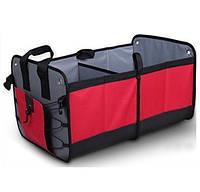 Вместительный органайзер в багажник автомобиля (АО-1007-9)