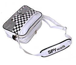 Сумка мужская Spy Walk Sport30272323 Белая, фото 2