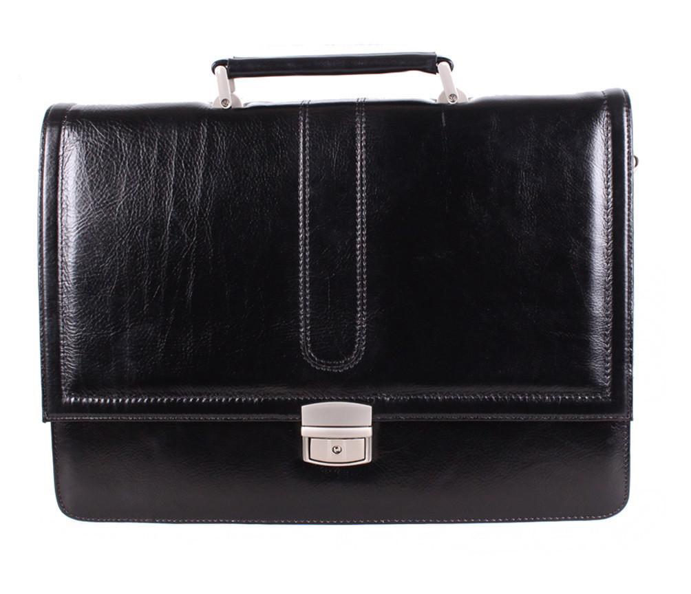 Портфель кожаный мужской Dovhani BL-35020 Черный