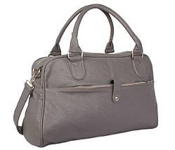 Дорожная сумка Voyage30411115 Серая, фото 2