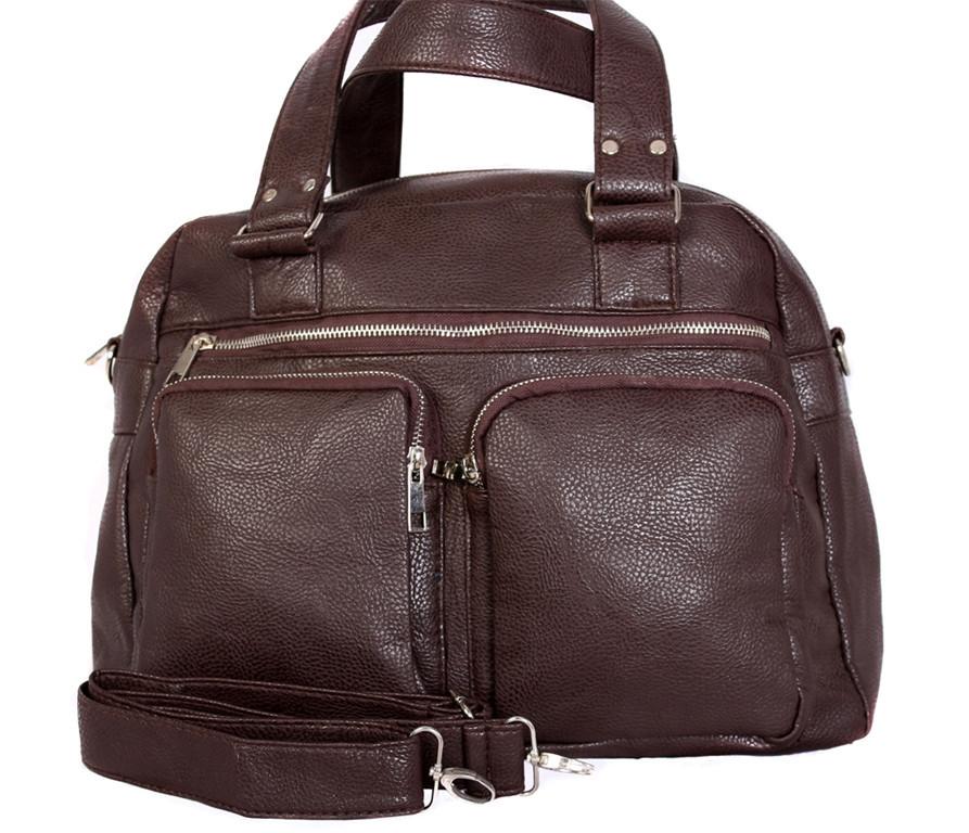 Дорожная сумка Voyage3040112 Коричневая