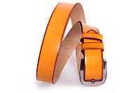 Мужской кожаный ремень Dovhani MX30743888 115-125 см Рыжий, фото 1