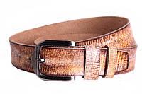 Мужской кожаный ремень Dovhani MX30526969 115-125 см Коричневый, фото 1