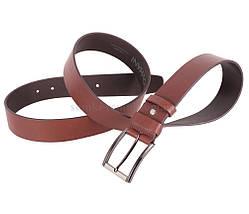 Мужской кожаный ремень Dovhani MXUK88822-22 115-125 см Коричневый, фото 2