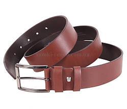 Мужской кожаный ремень Dovhani MXUK88822-22 115-125 см Коричневый, фото 3