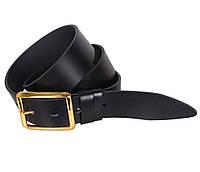 Мужской кожаный ремень Dovhani LL36-1934478 115-125 см Черный, фото 1