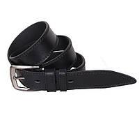 Мужской кожаный ремень Dovhani LP617-19924 115-125 см Черный, фото 1