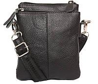 Мужская кожаная сумка Dovhani BL30014131 Черная, фото 1