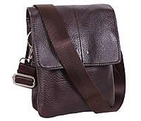 Мужская кожаная сумка Dovhani MESS8136-2CF70 Коричневая, фото 1