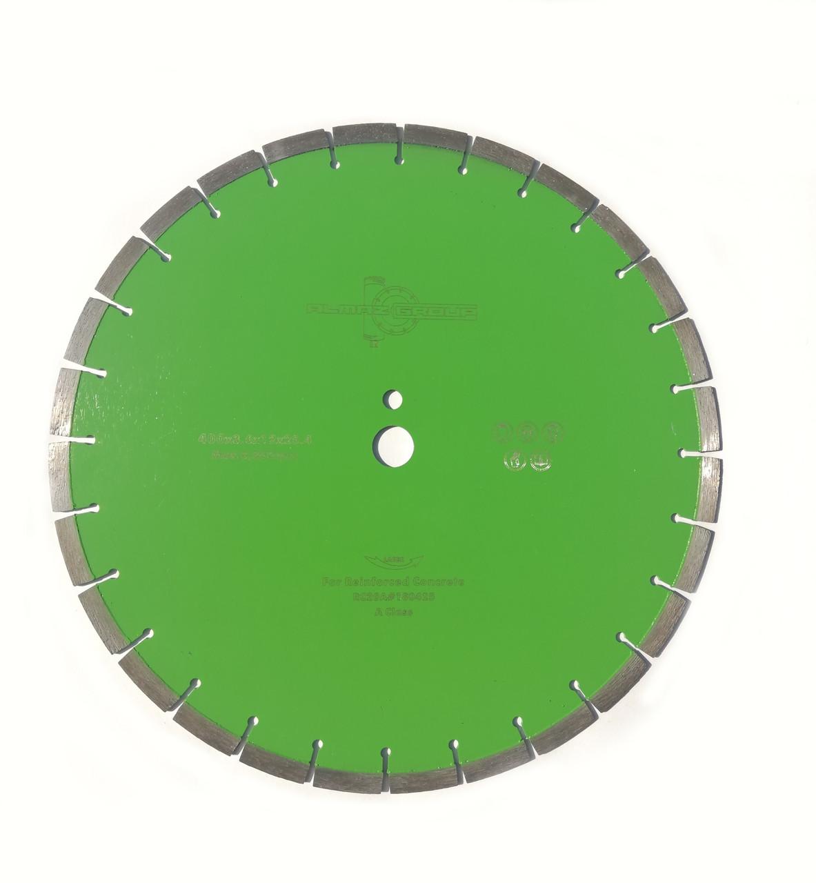 Алмазный диск ALMAZ GROUP Ø 400 мм