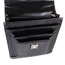 Портфель мужской Dovhani PKK302957134 Черный, фото 3