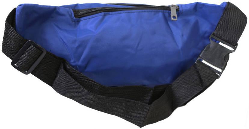 Сумка текстильная на пояс Dovhani Q003-6DBlue151 Синяя, фото 2