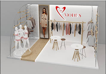 """Выставочный стенд """"MODUS"""""""