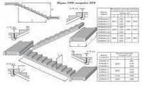Лестничная площадка 2 ЛП25.15-4 л,п, фото 1