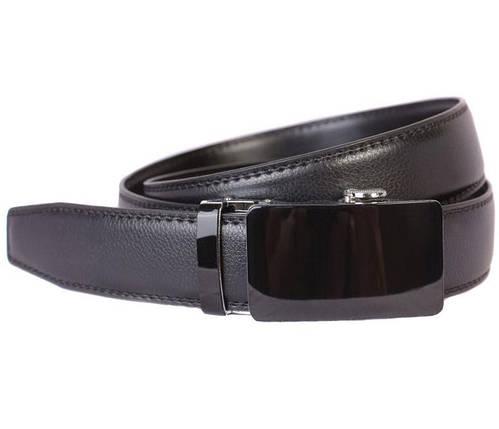 Ремень мужской Dovhani G301125175 110-120 см Черный, фото 2