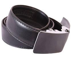Ремень мужской Dovhani G301125175 110-120 см Черный, фото 3