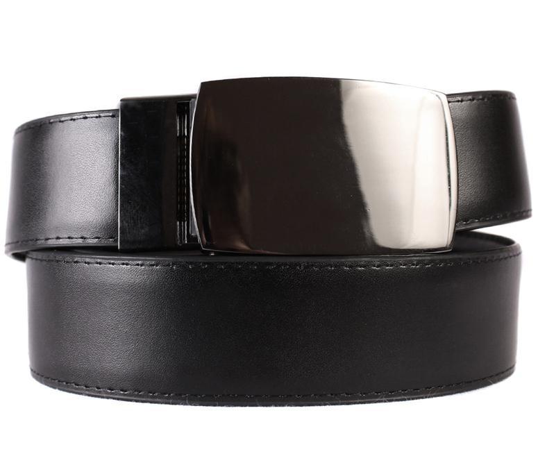 Ремень мужской Dovhani G30115084 110-120 см Черный