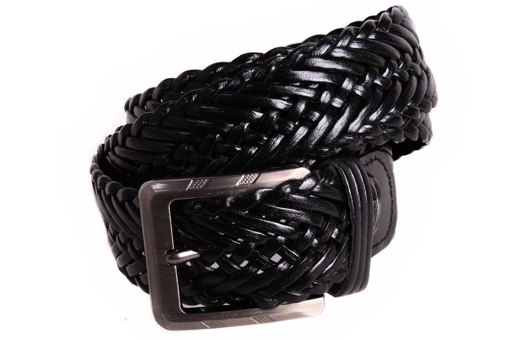 Ремень мужской Dovhani G304867198 110-120 см Черный