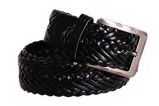 Ремень мужской Dovhani G304867198 110-120 см Черный, фото 3
