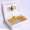 Інкубатор Теплуша LUX Люкс 72 яйця. автоматичний переворот тен, влагометр +12В адаптор ТАВ