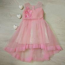 Детское праздничное нарядное платье 98-140