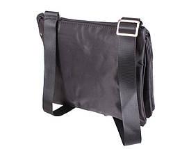 Сумка текстильная мужская Dovhani LOF301256234 Черная, фото 2
