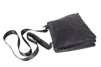 Сумка текстильная мужская Dovhani LOF301256234 Черная, фото 3