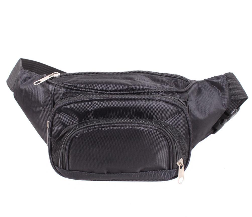 Мужская сумка на пояс Dovhani S303690283 Черная