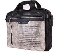 "Сумка для ноутбука 13,6"" Dovhani N30822287 Серо-Черная, фото 1"