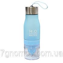 Бутылка для воды и напитков соковыжималка Полезная 650 мл , фото 2
