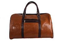 Дорожная сумка Dovhani 4236347 Рыжая