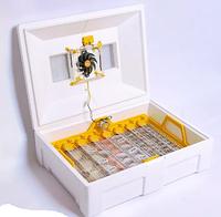 Инкубатор инверторный Теплуша LUX Люкс 72 яйца. автоматический переворот тэн, влагометр