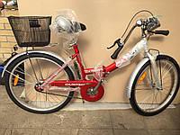 """Велосипед складной Салют 24"""" дюйма складной, складная рама, складывающийся"""