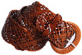 Женский плетеный пояс Dovhani PY4512388 100-110 см Коричневый, фото 3