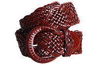 Женский плетеный пояс Dovhani PY4547391 95-110 см Коричневый