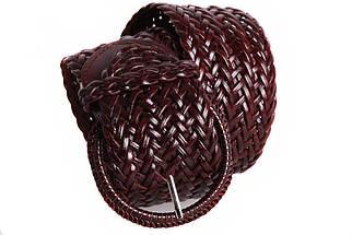 Женский плетеный пояс Dovhani PY4576394 105 см Коричневый, фото 2