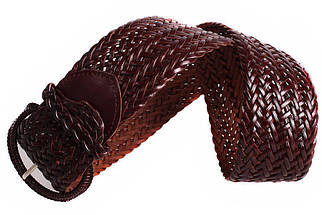 Женский плетеный пояс Dovhani PY4576394 105 см Коричневый, фото 3