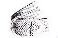 Женский плетеный пояс Dovhani PY4588395 95-110 см Белый